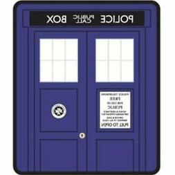 """Doctor Who """"Classic Tardis"""" Super Plush Silk Touch Blanket T"""