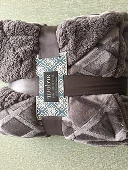 Bertte Super Soft Cozy Warm Decorative Diamond Reversible Sh