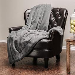 Chanasya Super Soft Faux Fur Warm Elegant Cozy With Fluffy S
