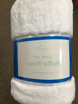 """Berkshire Super Soft Fluffie Throw Blanket 50""""x70"""""""