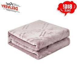 super soft lightweight flannel fleece throw blanket