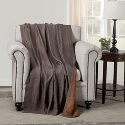 Lightweight Pre-Washed Belgian Flax Linen Reversible Throw B