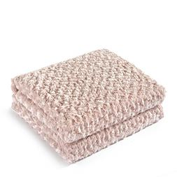 King Linens Super Soft Microfiber Blanket Stereo Rose Patter