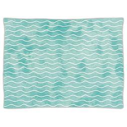 iPrint Super Soft Throw Blanket Custom Design Cozy Fleece Bl