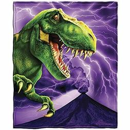 T-Rex Fleece Throw Blanket Home &amp Kitchen