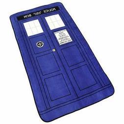Doctor Who Tardis Phone Booth Oversized Micro Raschel Throw