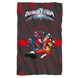 Team -- Power Rangers Ninja Steel -- Fleece Throw Blanket