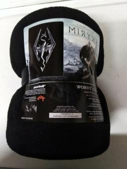 "The Elder Scrolls V 5 Skyrim Dragon Emblem 45"" x 60"" Fleece"