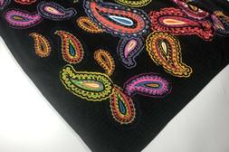 Vera Bradley THROW BLANKET - 80 x 50  Vibrant TWILIGHT PAISL