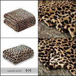 MERRYLIFE Throw Blanket Decorative Fleece Throw | Ultra-Plus