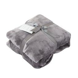 Caitlin White Throw Blanket for Couch/Sofa/Bed,Luxury Super