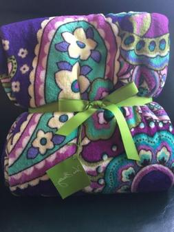 VERA BRADLEY Throw Blanket HEATHER  New With Tags, Retired P