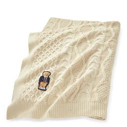 Polo Ralph Lauren Throw Blanket Plaid Manta Southwest Aztec