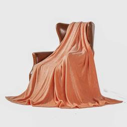 MERRYLIFE Throw Blanket Plush | Decorative Ultra-Plush Color