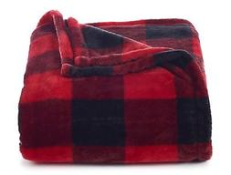 Throw Blanket Plush Super Soft and Cozy Oversized 60 x 72