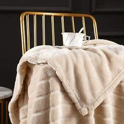 Throw Blanket Super Soft Cozy Warm Blanket Lightweight Luxur