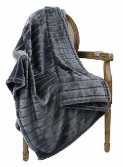 Bertte Throw Blanket Super Soft Cozy Warm Blanket 330 Gsm Li