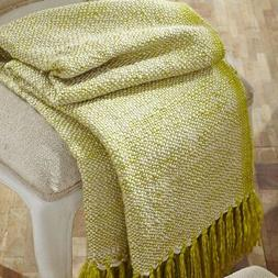 VHC Brands Tierney Woven Acrylic Throw
