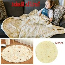 Tortilla Blanket Burrito Blanket Corn and Flour Soft Flannel