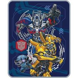 transformers 5 plush throw blanket