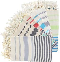 100% Turkish Cotton Bath Beach Hammam Towel Peshtemal Throw