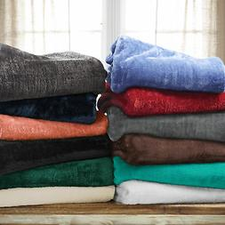 Ultra-Soft Luxury Fleece Blankets, Lightweight Super Soft Co