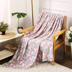 Ultra Soft & Plush Oversized Unicorn Throw Fleece Blanket