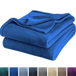 Bare Home Ultra Soft Microplush Velvet Blanket - Luxurious F