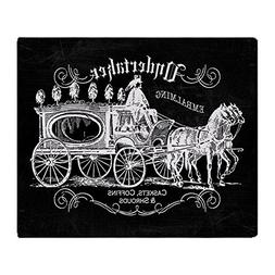CafePress Undertaker Vintage Style Soft Fleece Throw Blanket
