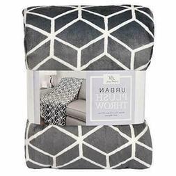 Life Comfort Urban Plush Throw Blanket Super Soft Machine Wa