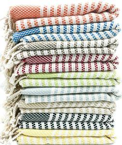 USA SELLER Turkish Towel,Throw Blanket,Housewarming Gifts,10