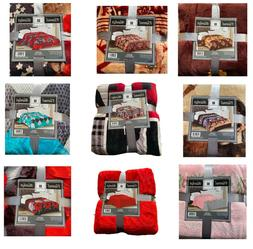 Valentines Special! 2LB Soft Throw Flannel Blanket King/Quee