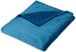 Pinzon Velvet Plush Blanket - King, Teal
