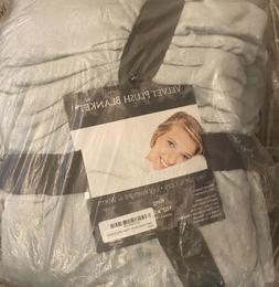 Velvet Plush Soft Home Fleece Throw Blanket,102'' X 90'', Eu