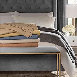 Valeron Victoria Luxury Throw Blanket Merino Wool & Cashmere
