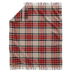 Pendleton Vintage Dress Stewart Motor Robe Wool Throw with L