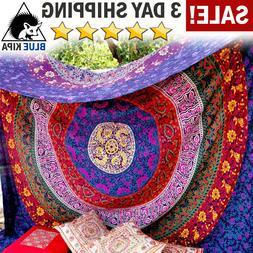 Wall Hanging Mandala Tapestry Dorm Decor Bedspread Picnic Bl