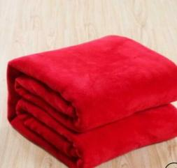 Warm Throws Super Soft Plush Velvet Blanket Sofa Home Bed Fl