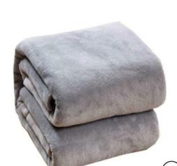 Warm Throws Super Soft Plush Velvet Blanket Sofa Home Bed Fl