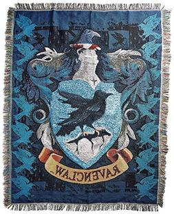 "Harry Potter, ""Ravenclaw Crest"" Woven Tapestry Throw Blanket"