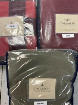 PENDLETON Washable Wool Bedding Blanket, King or Queen Asst