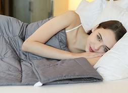 YnM Weighted Blanket , Great Sleep Therapy for People with A
