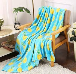 Whimsy Plush Fleece Throw Blanket