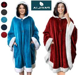 women angel wrap poncho wearable blanket wrap