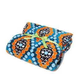 Vera Bradley XL Throw Blanket in Marrakesh Beads - Microflee