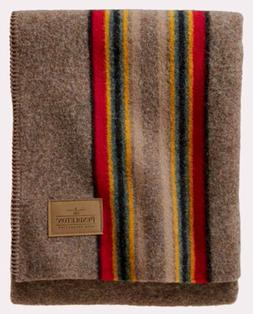 PENDLETON Yakima Camp Wool Throw, Mineral Umber, New in Pack