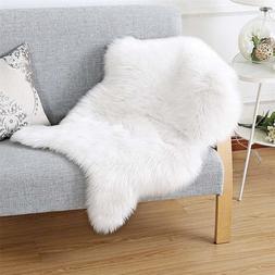 Yooap Faux Fur Sheepskin Style Rug  Faux Comfortable Soft Us